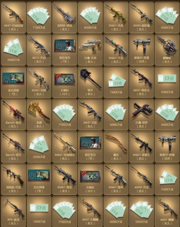 穿越火线游戏道具一键领取-穿越火线哪个软件能一键领取所有武器